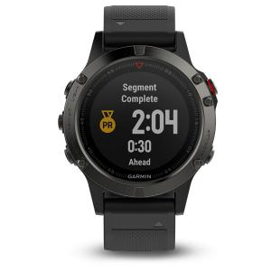 Sporttester Garmin Fenix 5 Gray Optic Black Band